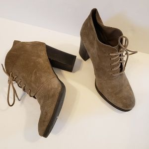 Franco Sarto | Wenda heeled leather ankle booties